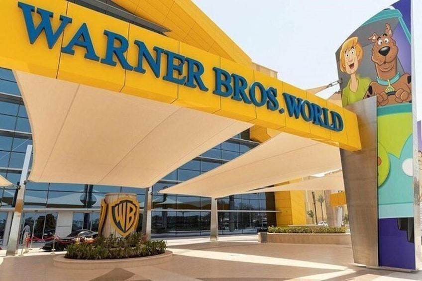 Show item 3 of 4. Warner Bros World and Ferrari World Combo Ticket with transfer from Dubai