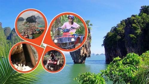 James Bond Island Tour with ATV Riding from Krabi