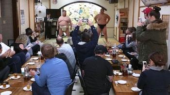 [Ryogoku] Sumo Show Experience & Chanko Nabe Lunch