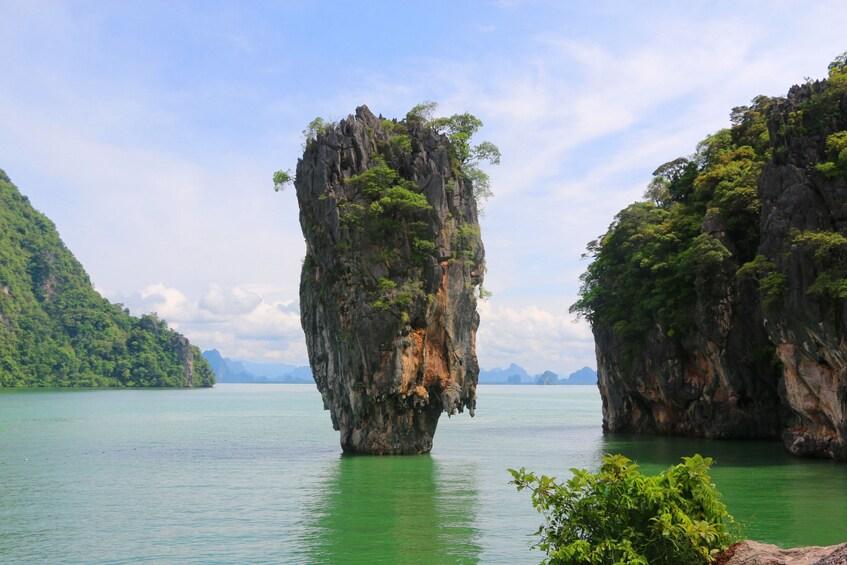 Show item 1 of 10. Khao Lak: Phang Nga Bay & James Bond Island by Longtail Boat