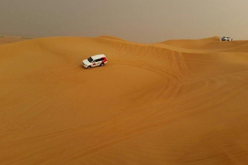 Show item 1 of 2. Guided Day Tour to Desert Safari-Dune Bashing with Dinner in Dubai