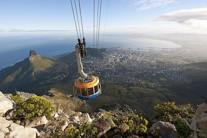 Cape Car on Table Mountain