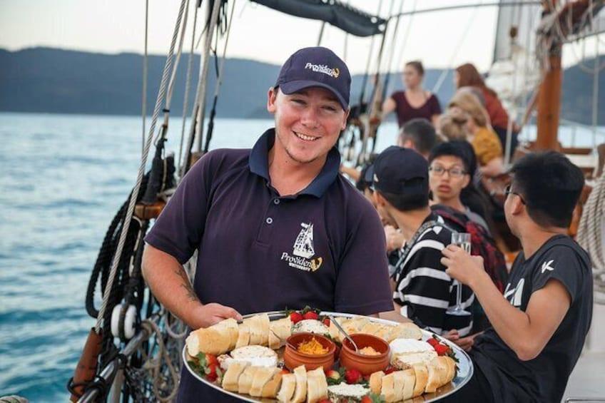Show item 4 of 7. Whitsundays Sunset Sailing Cruise