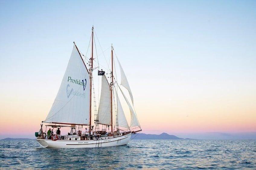 Show item 1 of 7. Whitsundays Sunset Sailing Cruise