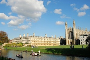 Private Chauffeured Minivan Tour to Cambridge from London