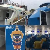 Chao Phraya Tourist Bangkok Hop-On-Hop-Off Sightseeing Boat