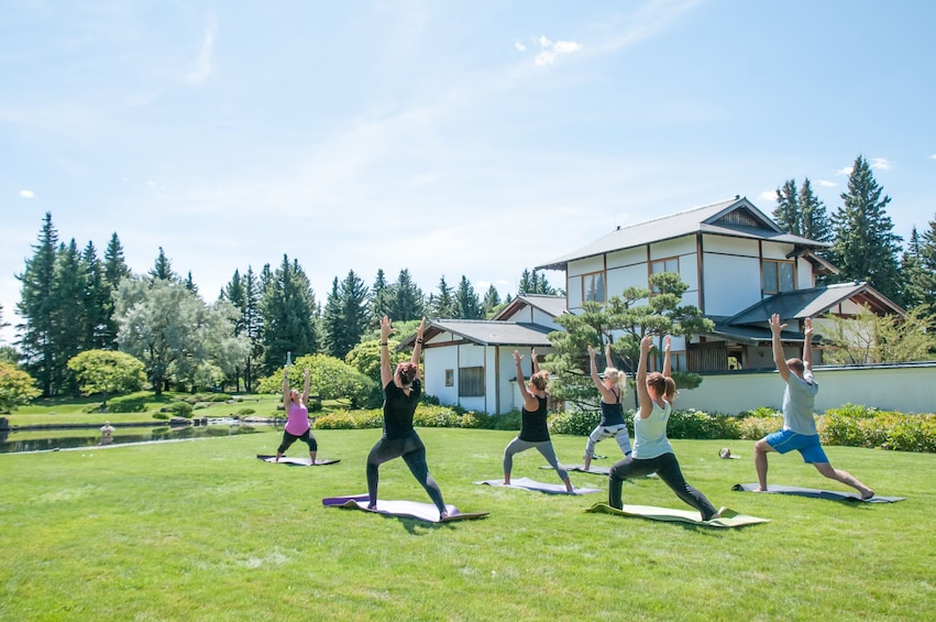 Show item 2 of 5. 108 Garden Yoga Experience