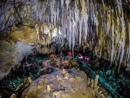 Open Cenote + Cenote Cave from Playa del Carmen
