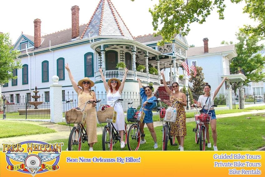 Show item 1 of 9. The ORIGINAL Creole & Crescent Bike Tour