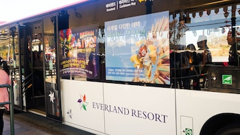 Everland Shuttle Bus Ticket Roundtrip from Seoul