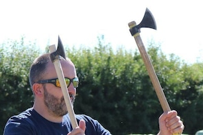 Axe and Knife Throwing for vikings of all kinds