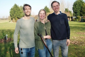 Clay Shooting Tuition plus Archery, Air Rifles