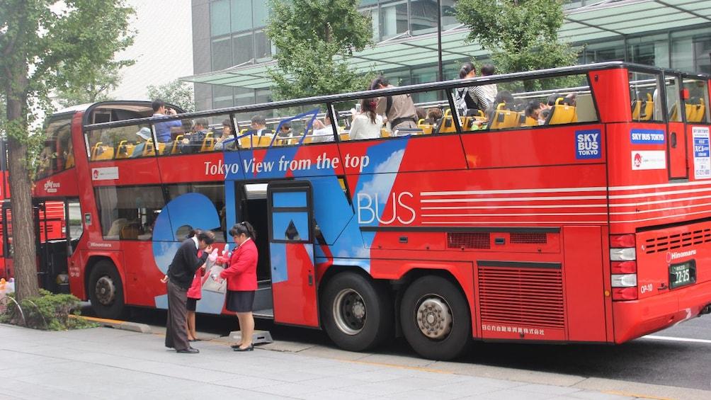 Show item 5 of 8. Tokyo Sky Hop-on & Hop-off Bus Ticket