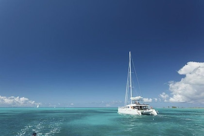 St Lucia West Coast Catamaran Cruise to Soufriere and Sulphur Springs