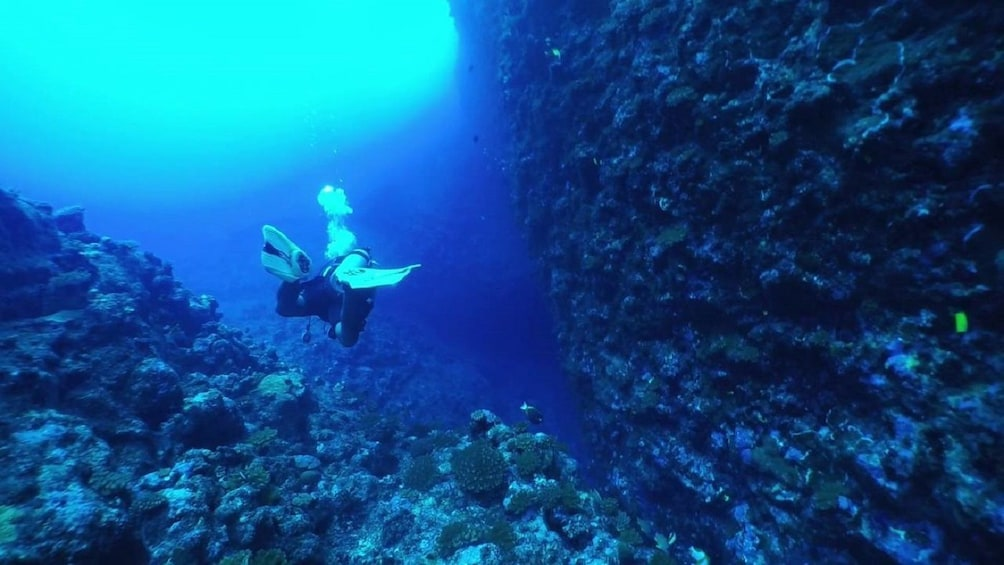 Show item 3 of 6. Saipan Grotto Cave Snorkeling and North Tour