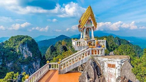 Krabi Tiger Cave Temple, Emerald Pool & Hot Spring Tour