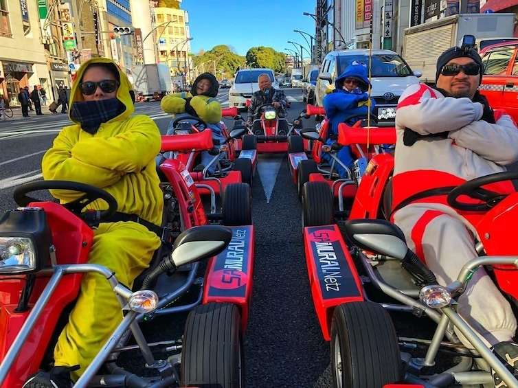 Go-Kart Asakusa in Tokyo