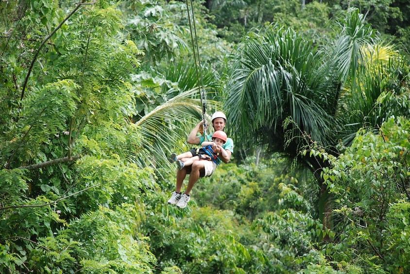 Extreme Ziplines from Samana