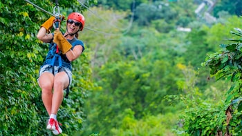 Extreme Zip lines from Samana