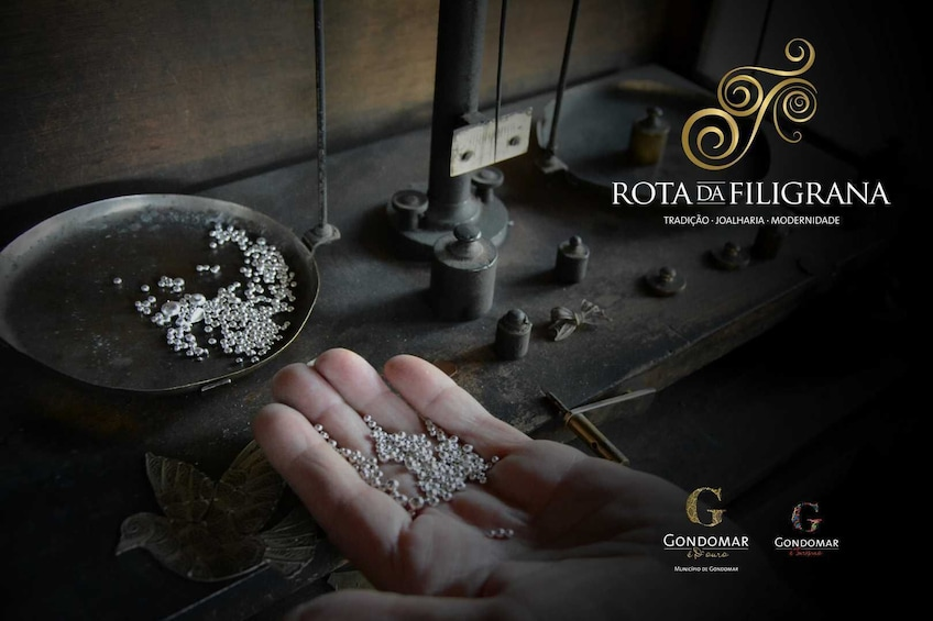 Show item 3 of 7. Discover the art of Filigree in the hands of an artisan