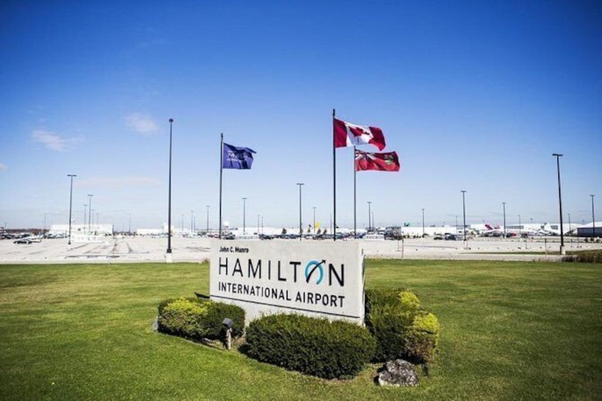 Show item 1 of 7. Private Transfer: Hamilton Airport (YHM) to Niagara Falls, ON