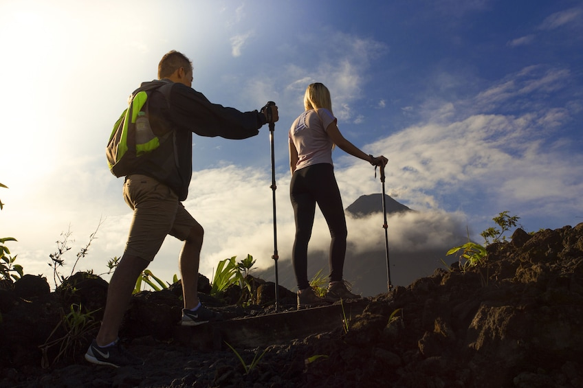 Show item 3 of 5. Arenal Volcano Hike and Hot Springs