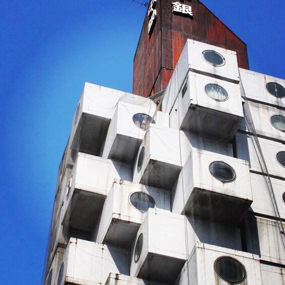Ginza Nakagin Capsule Tower Tour