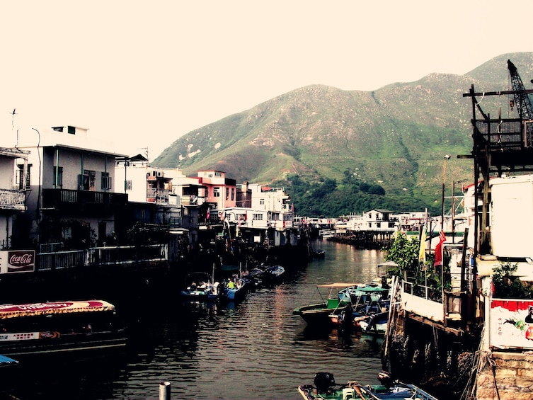 Show item 4 of 5. Lantau Island Crystal Cabin Cable Car Private Tour