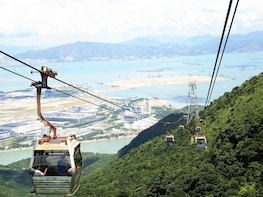 Lantau Island Crystal Cabin Cable Car Private Tour