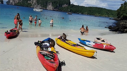 Full Day in Phi Phi Don and Monkey Beach from Phuket