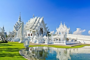 1 Day ChiangRai,White Temple&Black House-Chiang Mai Pick Up