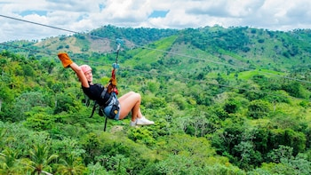 Extreme Ziplines Full-Day from Juan Dolio