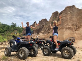 Khao Lak: ATV, Mangrove Canoe, and Temple Tour