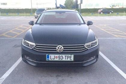 Private transfer from Piran to Ljubljana city