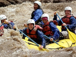 Rafting on the Urubamba River and lunch