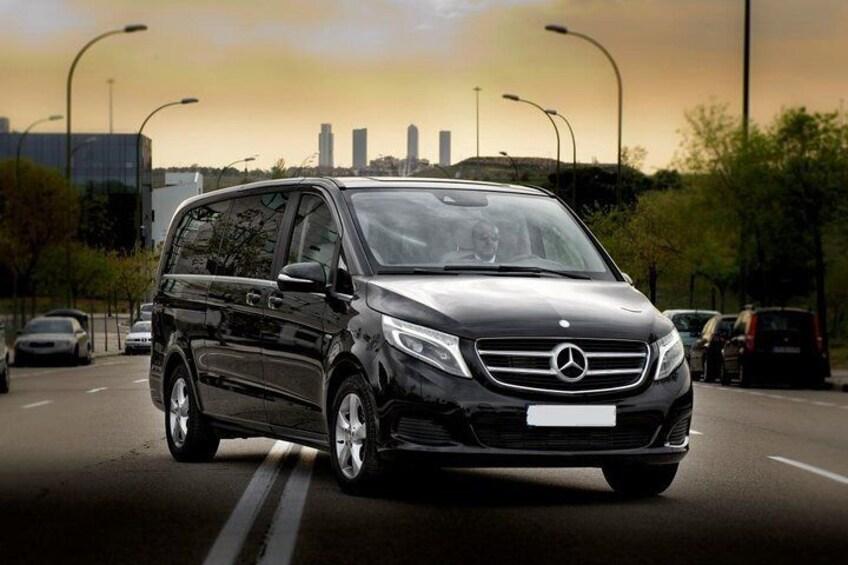 Luxury Van Mercedes V Class Exterior