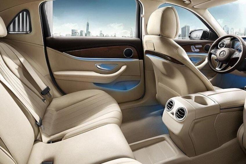 Business Car Mercedes E Class Interior