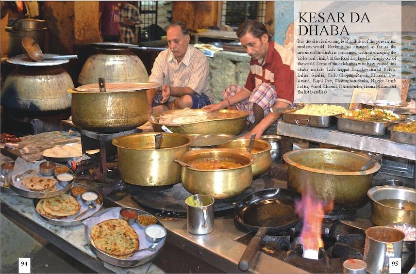 Dinner at Kesar Da Dhaba & Wagah Border Visit