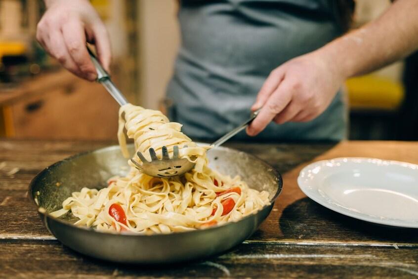 Show item 2 of 6. Pasta in Genoa