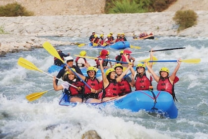 Lunahuana Full Day: Rafting, Quads and Wine tasting