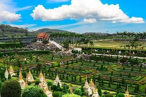 Nong Nooch Tropical Garden (Ticket only:Admission + Show + Lunch/Dinner Sea...
