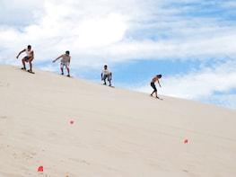 Sandboarding in Salaverry Trujillo