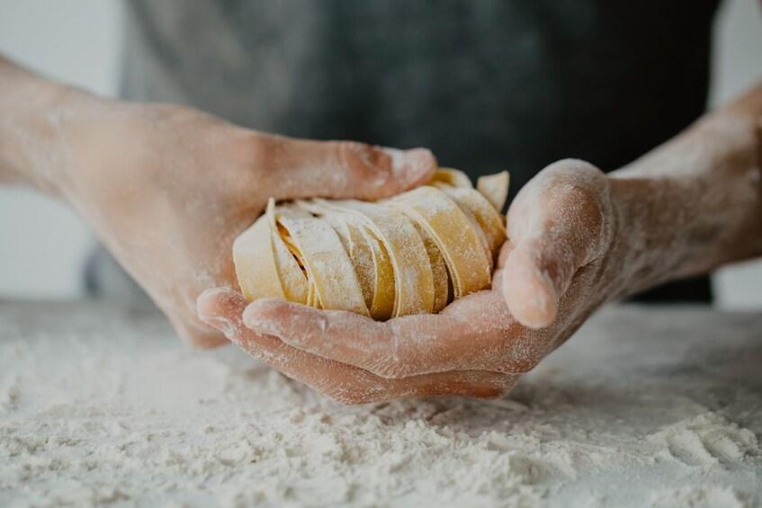 Show item 1 of 6. Homemade pasta in Cogoleto
