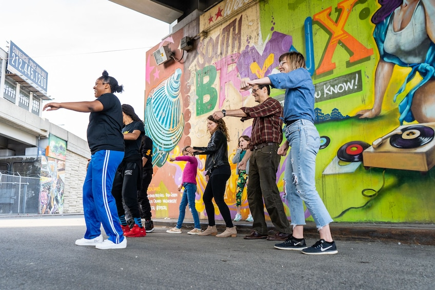Show item 4 of 10. Hip Hop dance class with NYC street & subway dancers