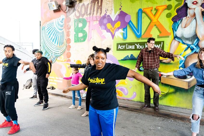 Hip Hop dance class with NYC street & subway dancers
