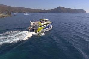 Catamaran trip to Cap Norfeu - Jòncols with submarine vision
