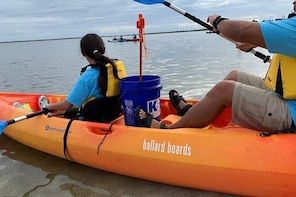 Three-Hour Tandem Kayak Hire