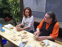 Japanese Crafts Workshop in Uchiko Town, Ehime Prefecture