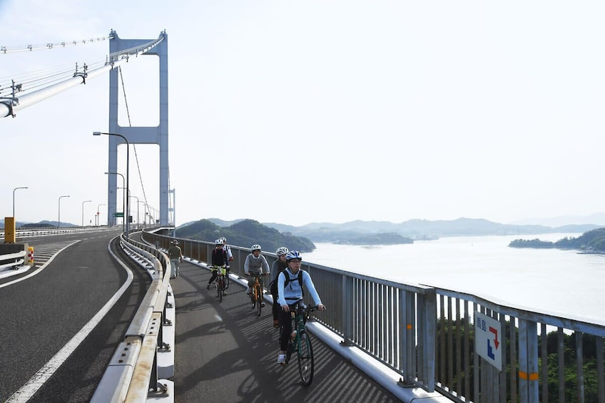 Show item 5 of 5. Shimanami Kaido Cycling and Driving Tour in Ehime Prefecture