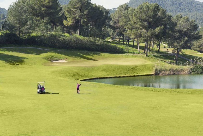 Show item 1 of 10. Golf de Ibiza - Green Fee 18-hole Course - Golf Ibiza
